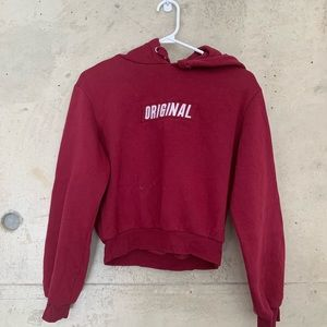Cropped hoodie from H&M